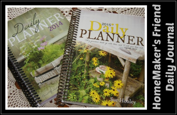 homemakers friend daily journal