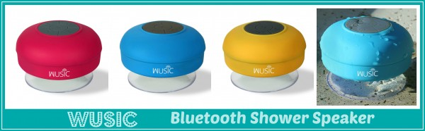 wusic shower speaker
