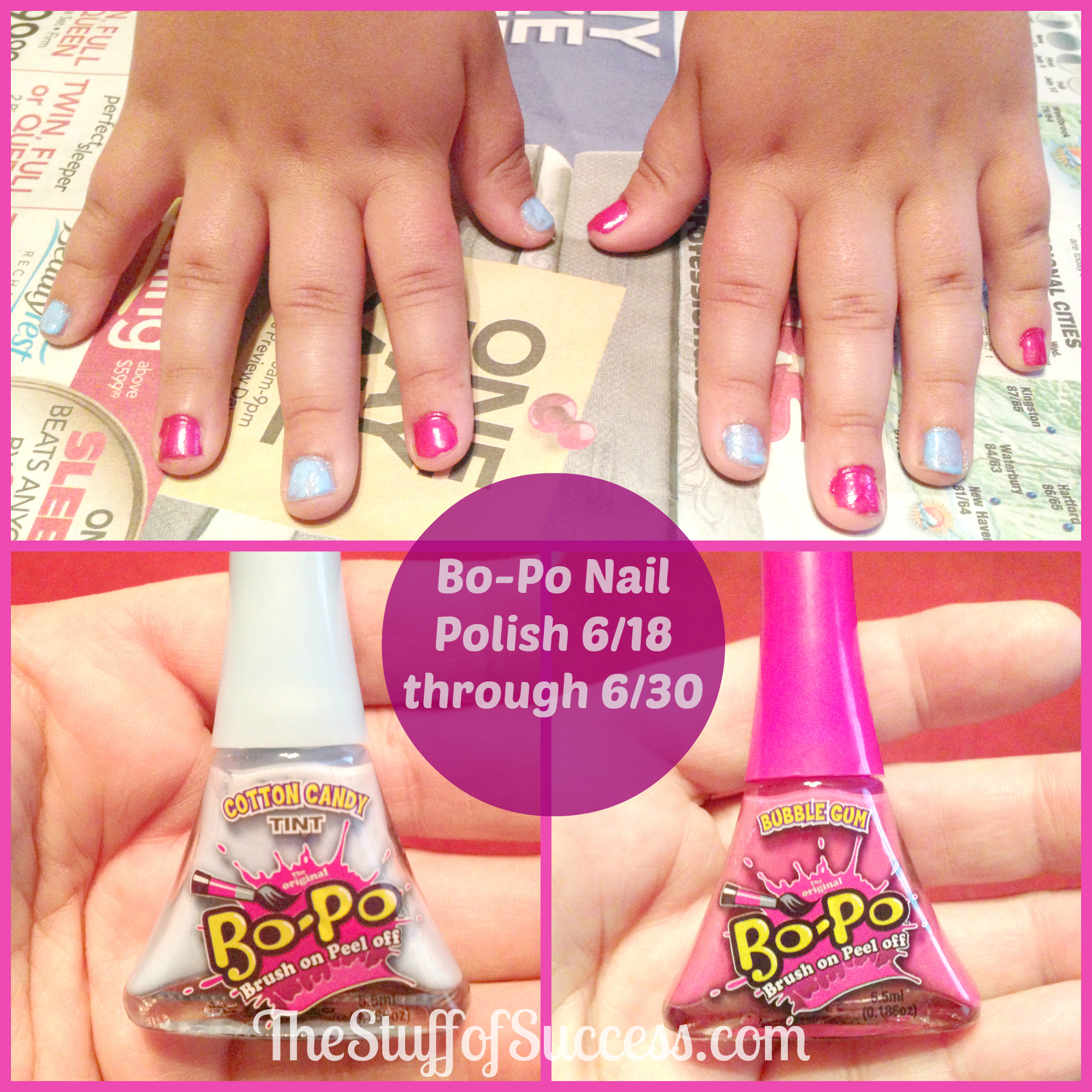 My Devotional Thoughts | Bo-Po Nail Polish Giveaway (ends 6/30) U.S.