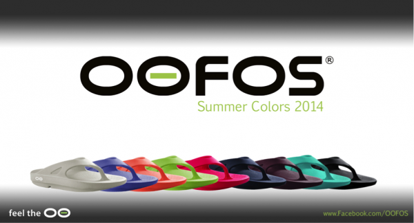 oofos colors