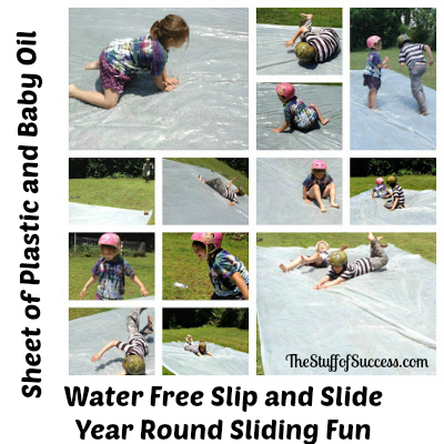 Water Free Slip and Slide