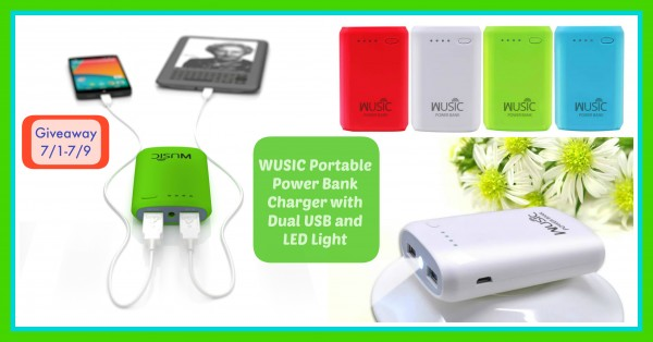 Enter the Another Wusic Portable Power Bank Giveaway
