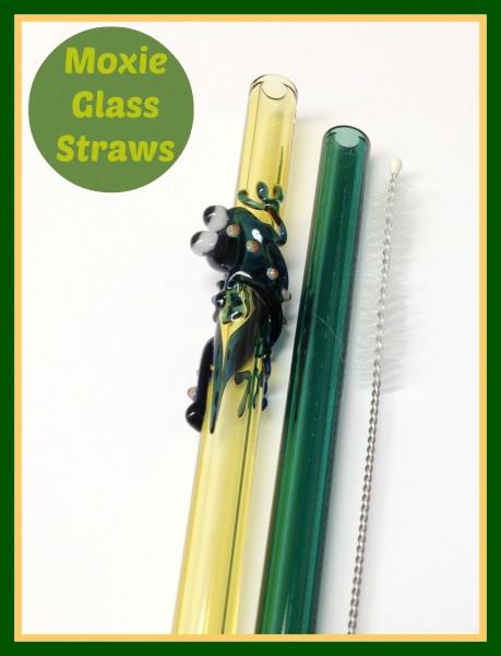 moxie glass straws