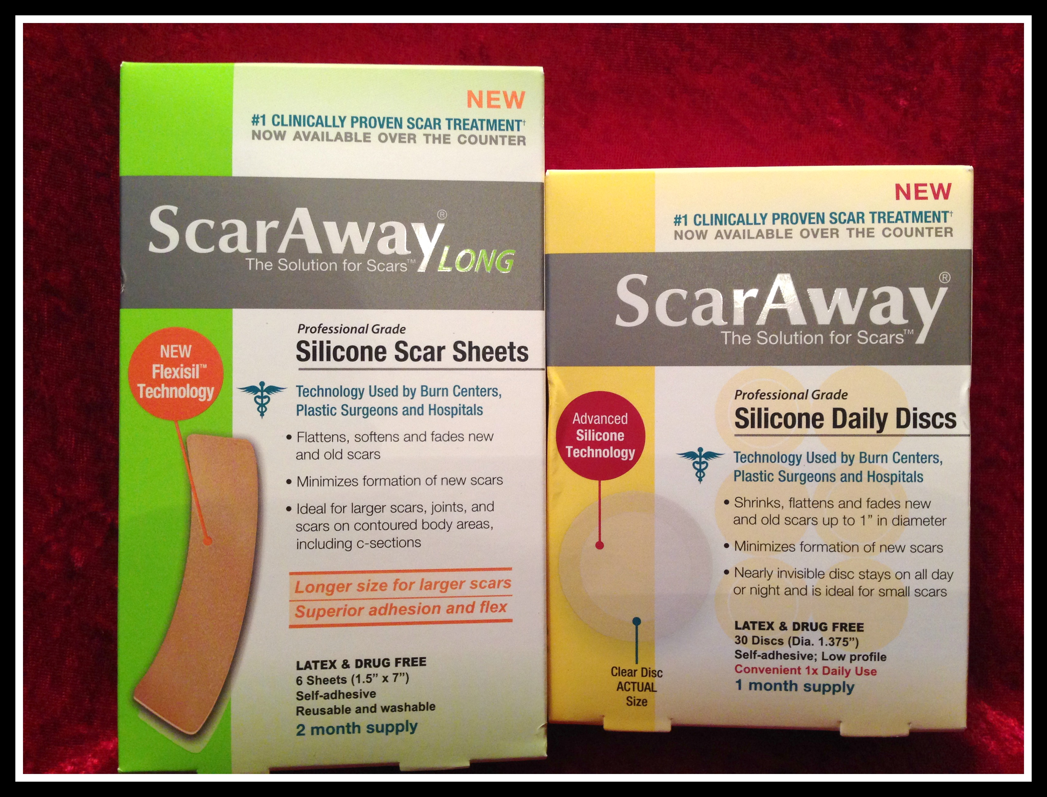 scar away silicone sheets instructions