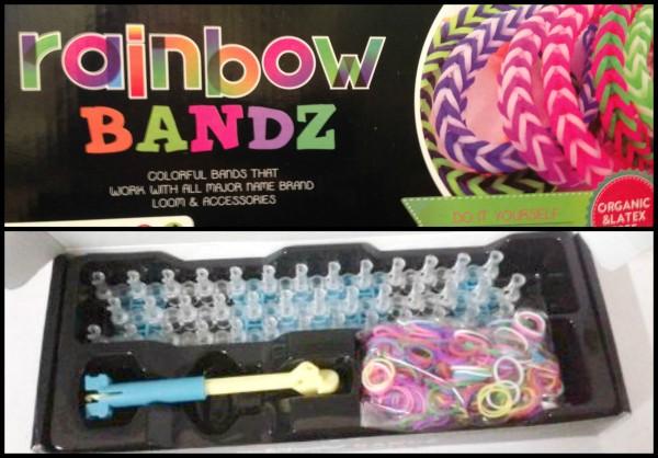 rainbow bandz loom