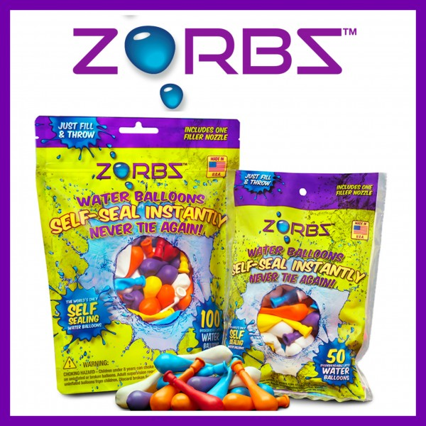 Enter the Zorbz No Tie Water Balloon Prize Pack Giveaway. Ends 7/31.