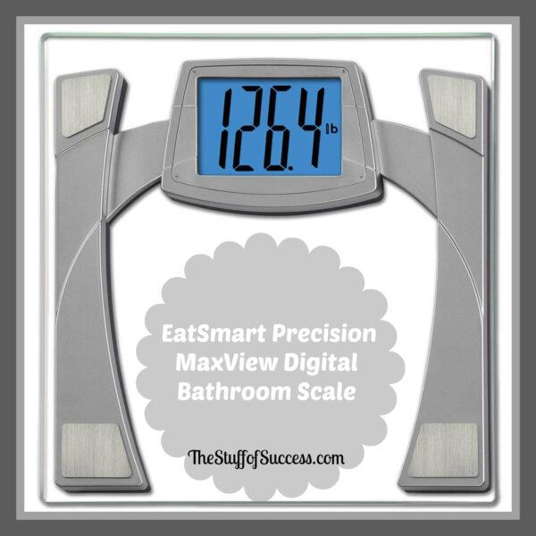 EatSmart Precision MaxView Digital Bathroom Scale