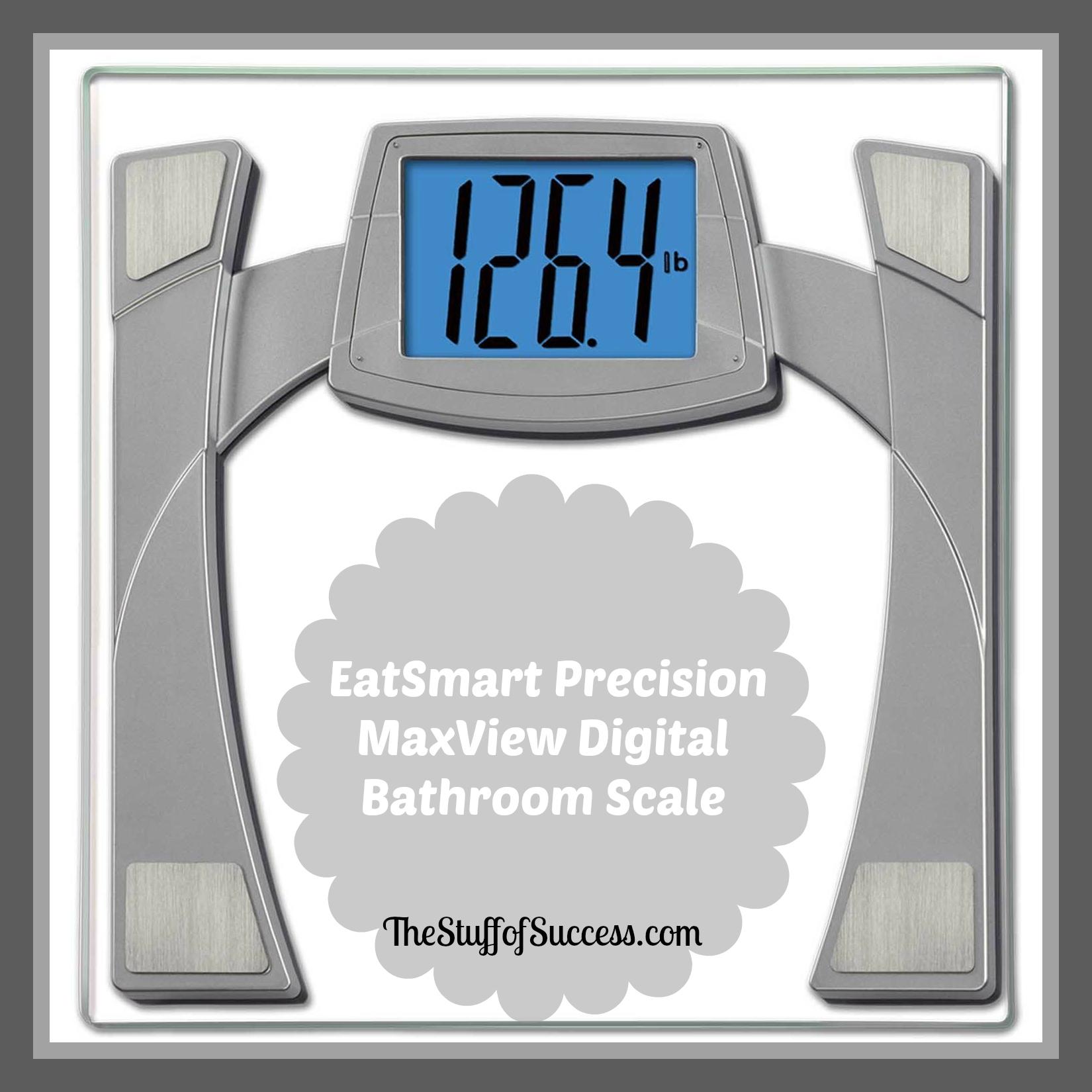 #EatSmart Precision MaxView Digital Bathroom Scale ⋆ The ...