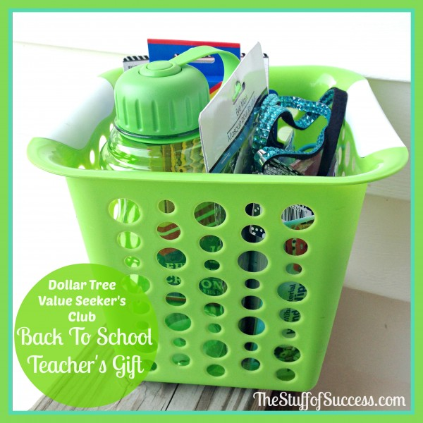 Teachers gift Dollar Tree Value Seekers Club(1)