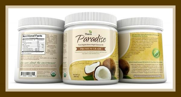 TheraVita Paradise Coconut Oil