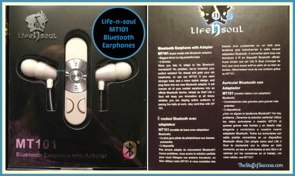 Enter the Life n Soul MT101 Earphones Giveaway. Ends 9/15.