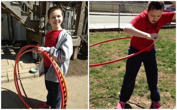 using hoops