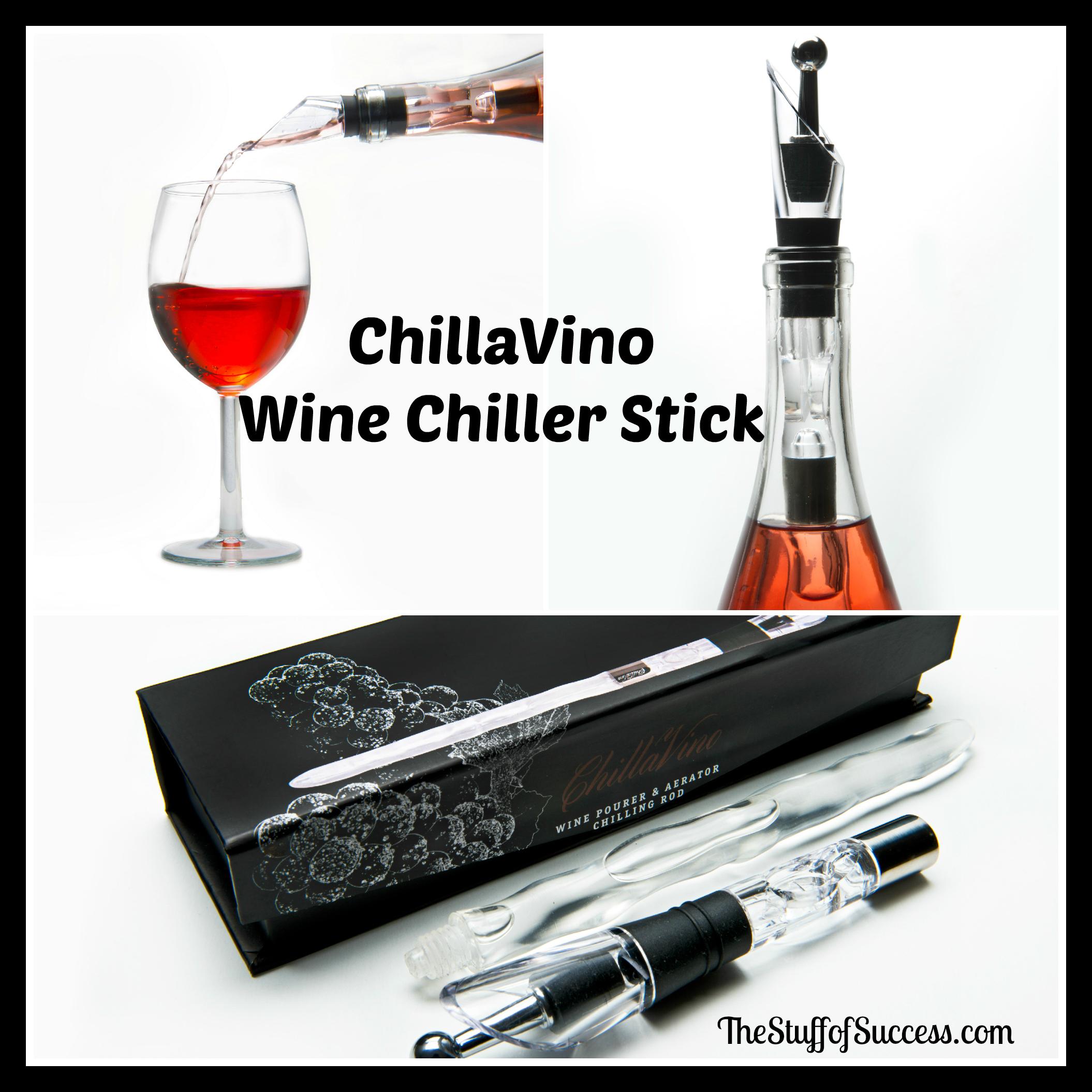 ChillaVino Wine Chiller Stick