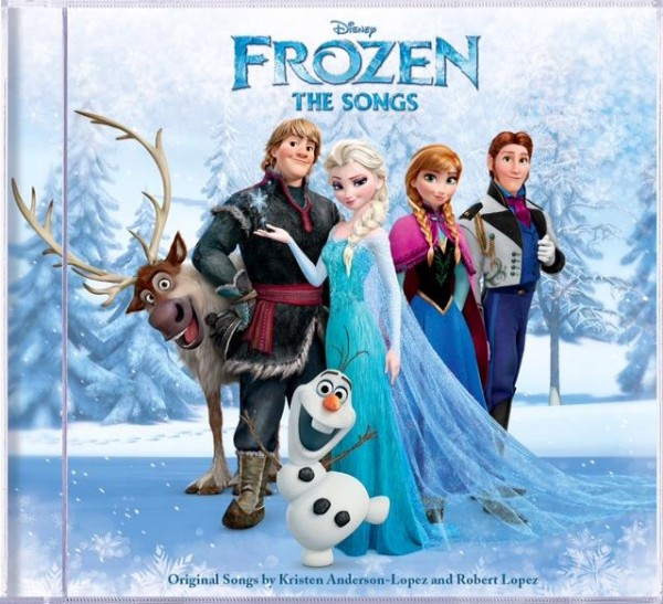 Frozen CD Artwork