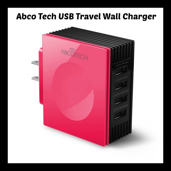 Abco Tech USB Travel Wall Charger