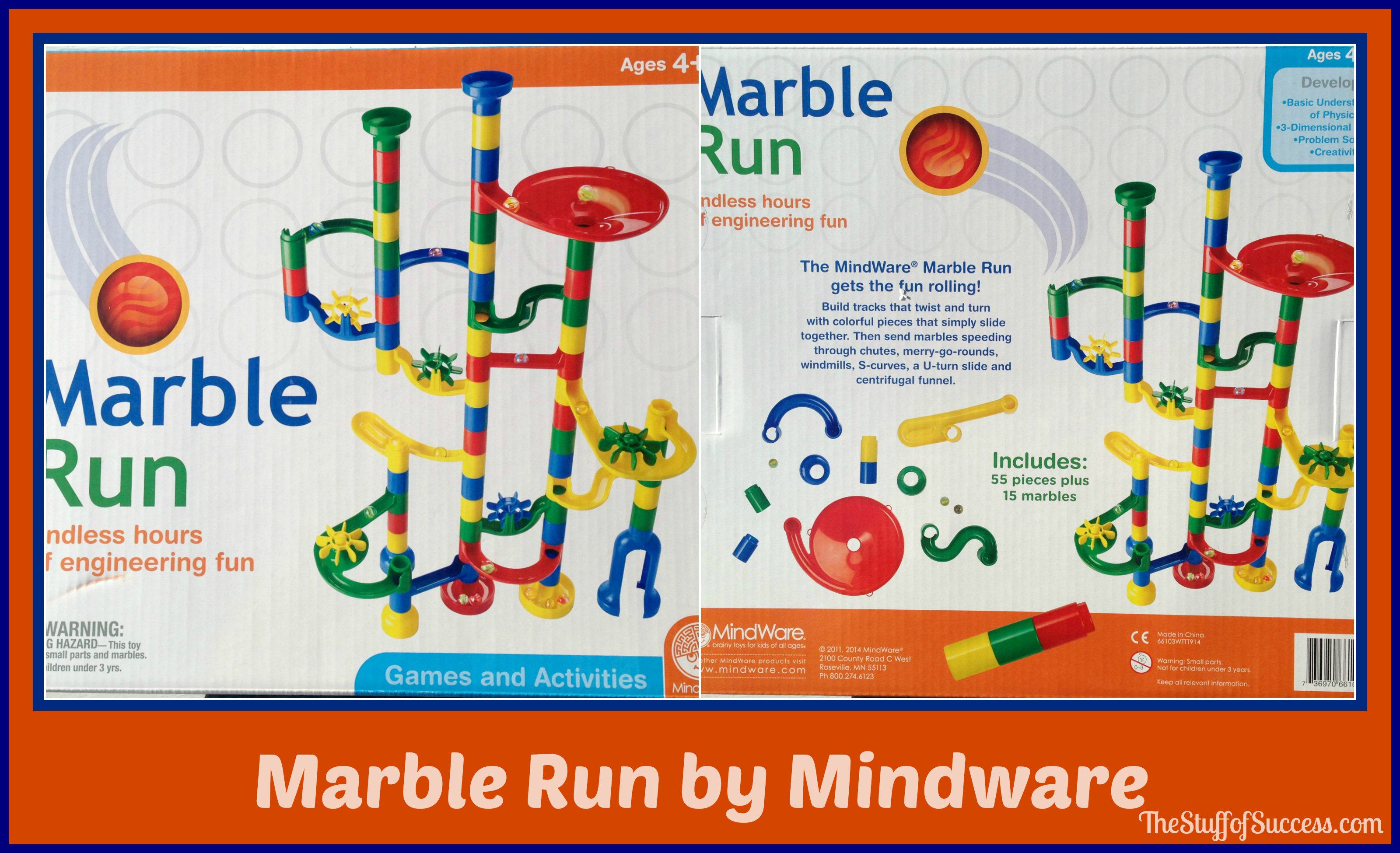 Marble Run By Mindware Target Exclusive Review And Giveaway