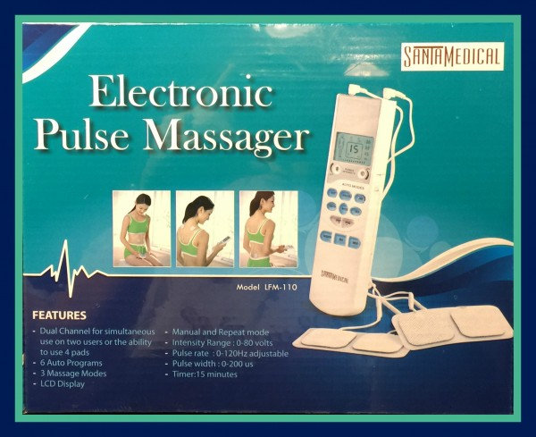 Tens Handheld Electronic Pulse Massager