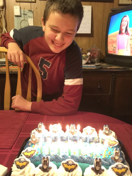anthony blowing out candles