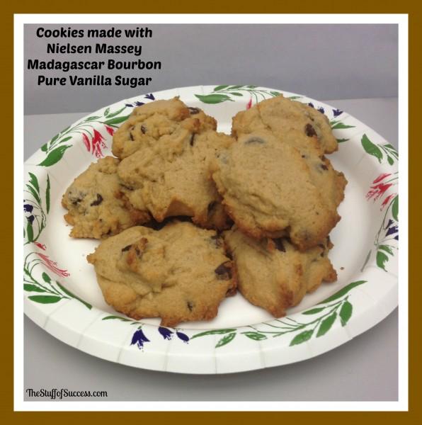 cookies made with nielsen massey madagascar bourbon pure vanilla sugar