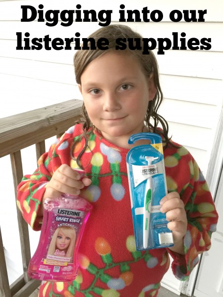 digging into our listerine supplies