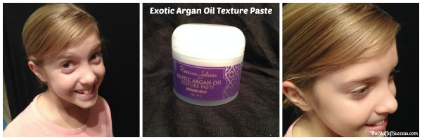 exotic argan oil texture paste