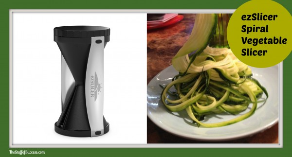 ezslicer spiral vegetable slicer