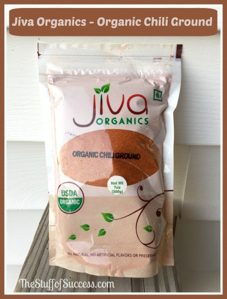 jiva organics organic chili ground