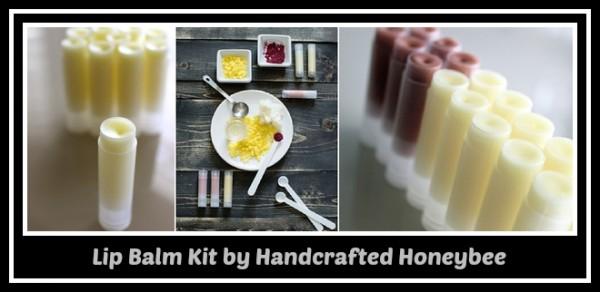 lip balm kit handcrafted honeybee