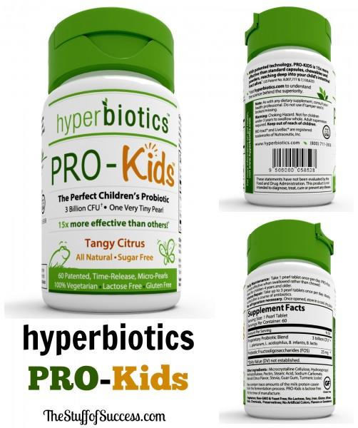 pro kids hyperbiotics