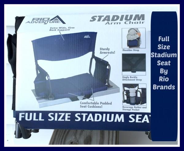 rio brands stadium seat