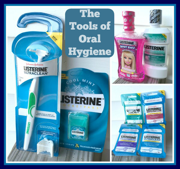 the tools of oral hygiene