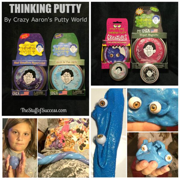 thinking putty collage