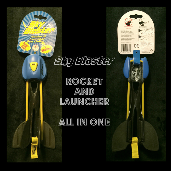 skyblaster rocket and launcher