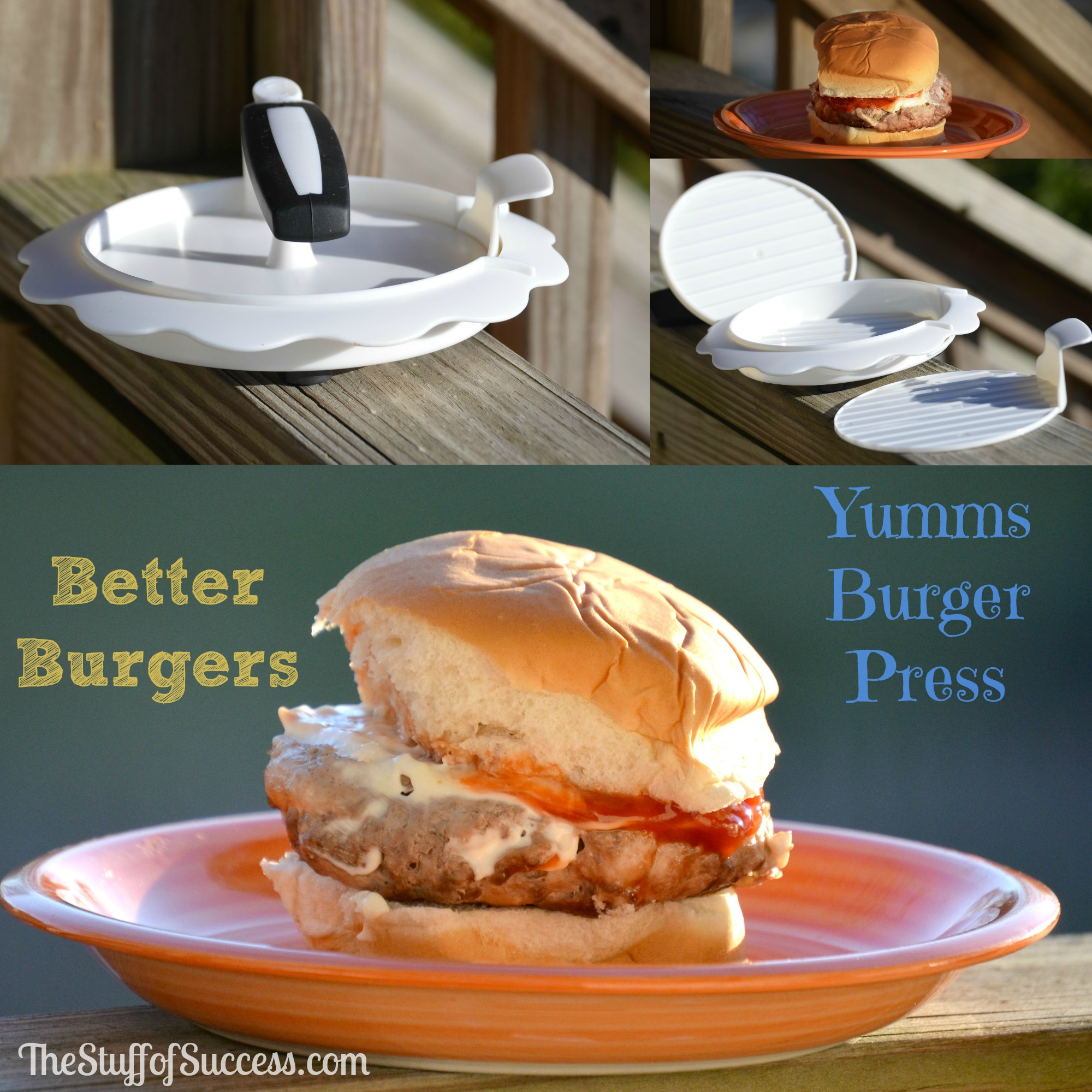 Better Burgers With a Yumms Burger Press