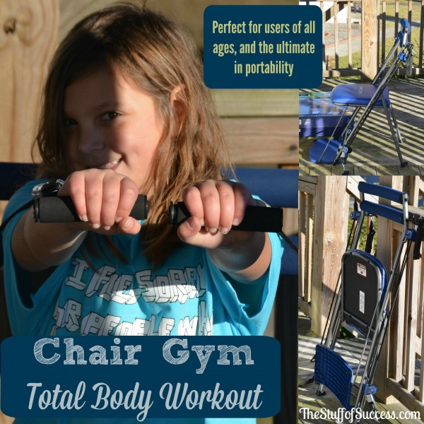 Chair Gym Total Workout - Perfect for Users of All Ages and The Ultimate in Portability
