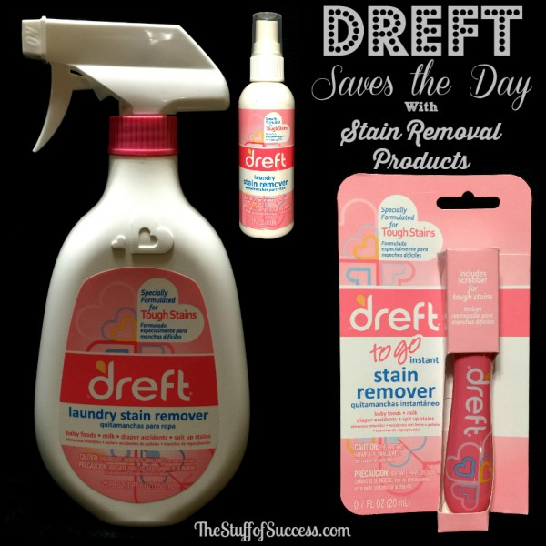 Dreft Saves the Day with Stain Removal Products