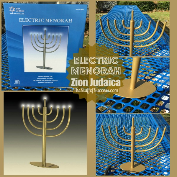 Electric Menorah Header Image