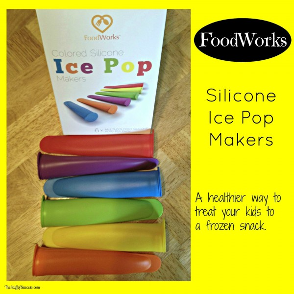 FoodWorks Colored Silicone Ice Pop Makers