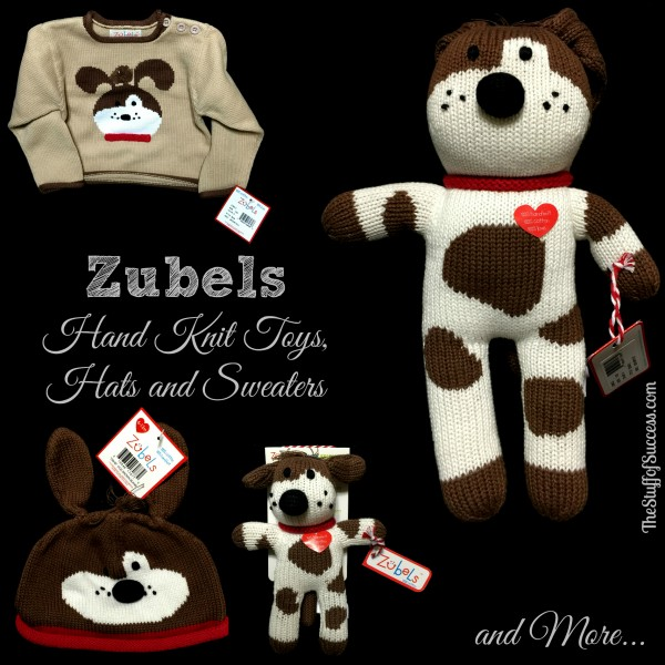 Zubels Hand Knit Toys Hats Sweaters and More