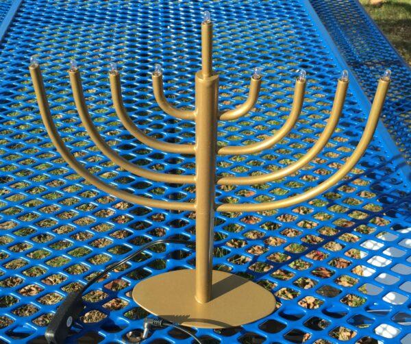 menorah in full