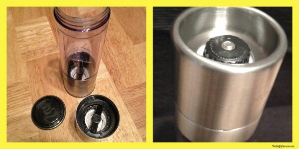 salt and pepper grinder parts