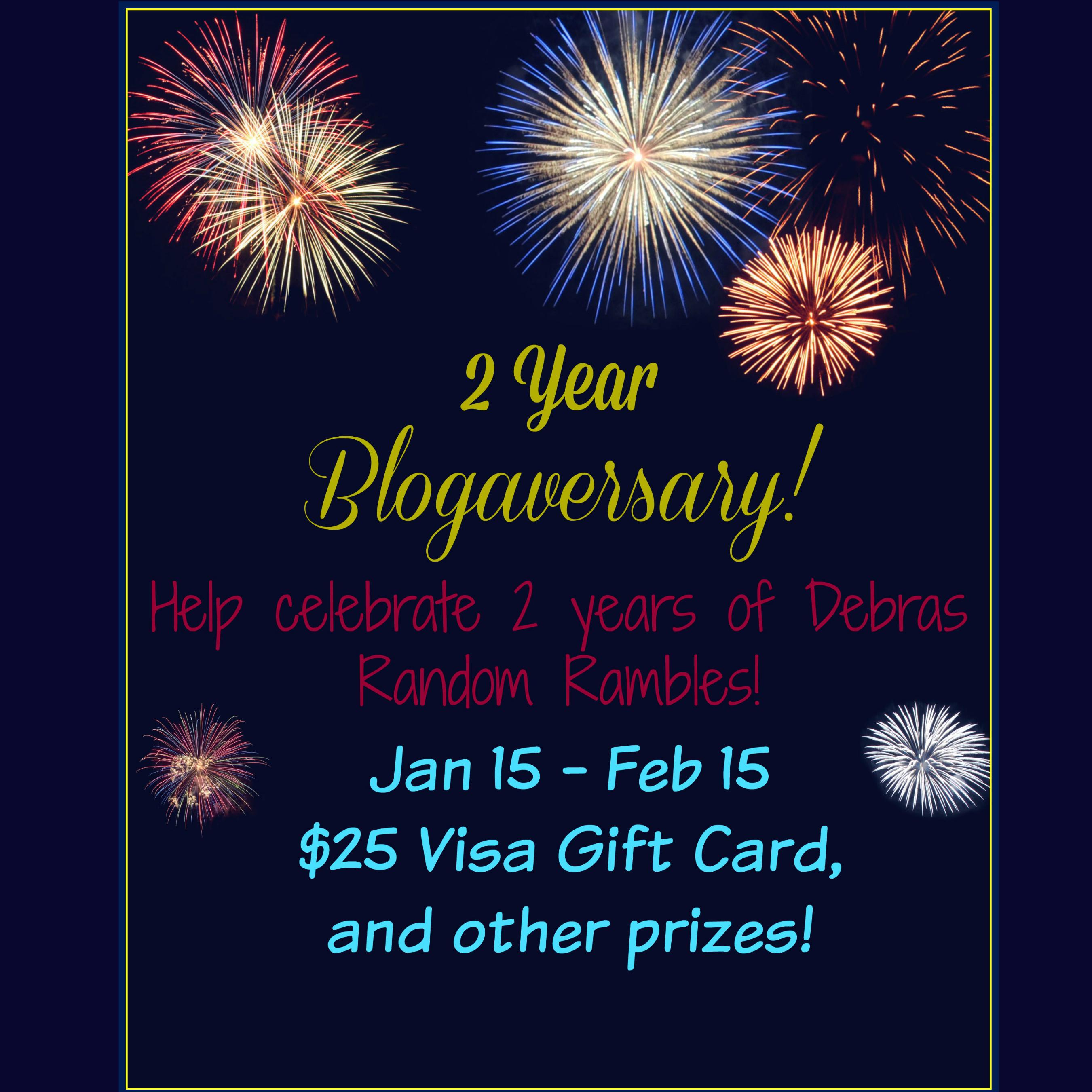 2 Year Blogaversary Party