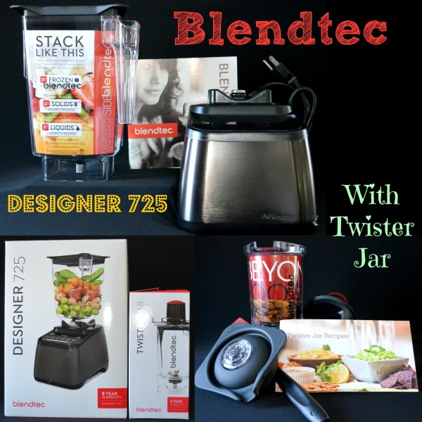 Blendtec Designer 725 With Twister Jar