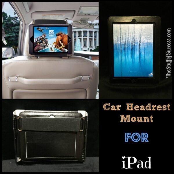 Car Headrest Mount for iPad