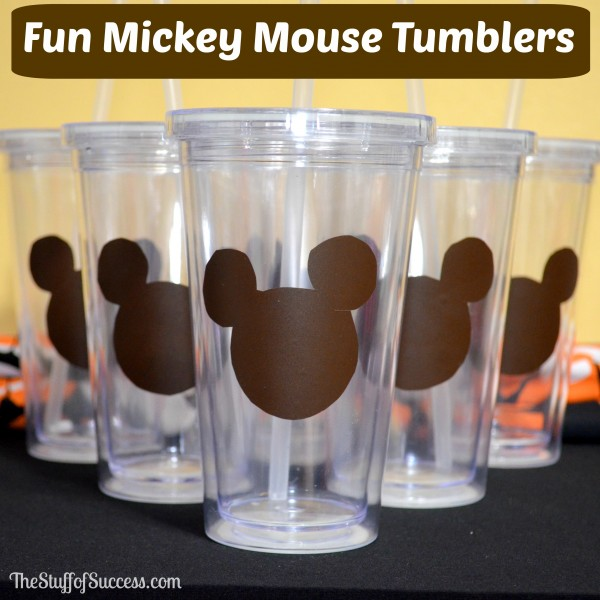 Fun Mickey Mouse Tumblers