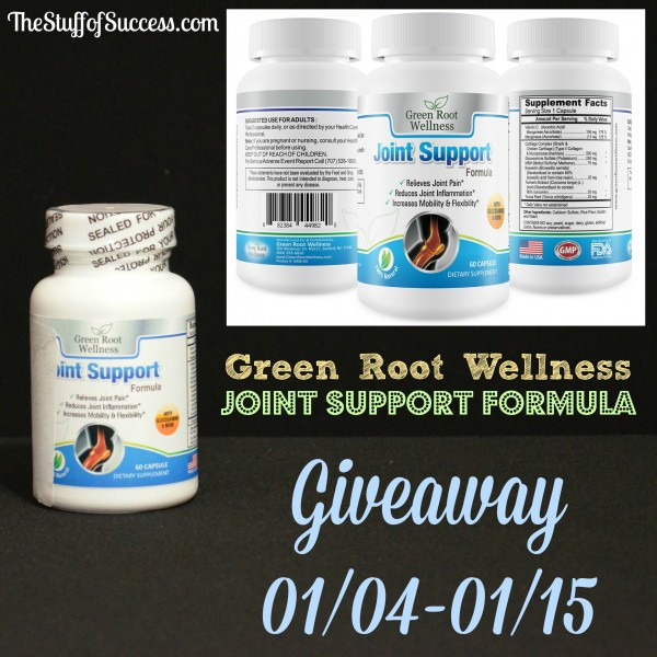 Joint Support Formula Giveaway