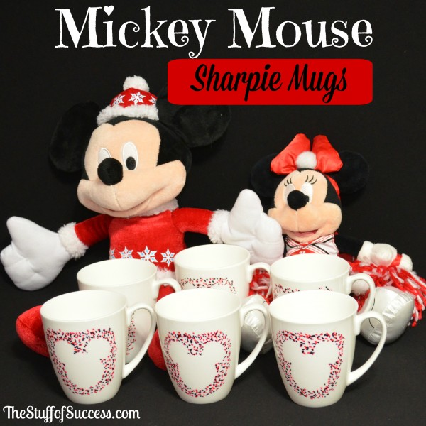 Mickey Mouse Sharpie Mugs The Stuff of Success