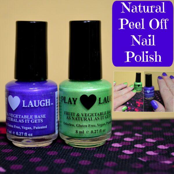 Natural Peel Off Nail Polish