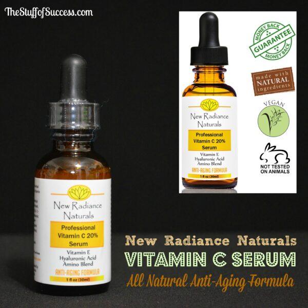 New Radiance Naturals Vitamin C Serum
