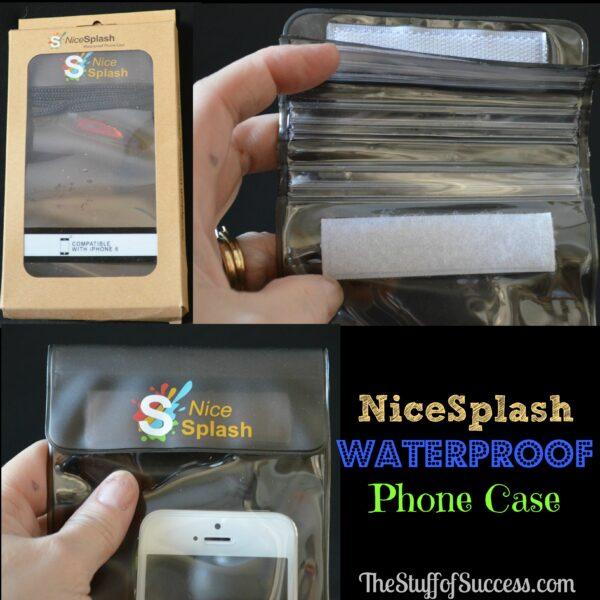 NiceSplash Waterproof Phone Case Header